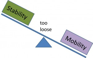 too loose