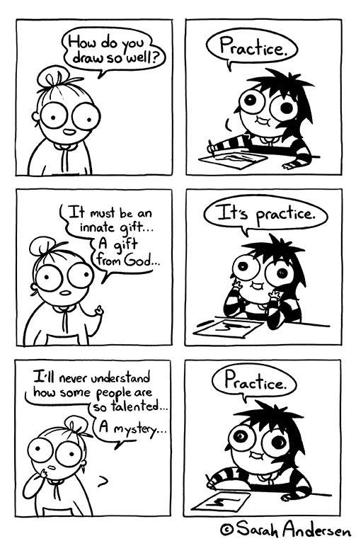 Sarah Scribbles Comic